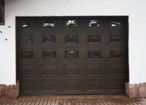 ворота гаражные секционные Херман