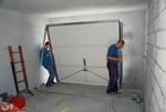 подъемно поворотные гаражные ворота своими руками