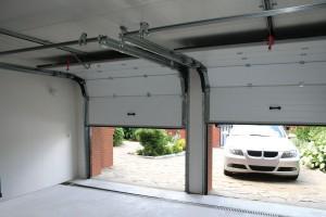 Ширина гаражных ворот на две машины