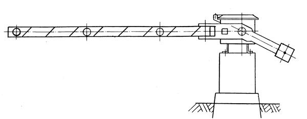 как сделать чертеж для изготовления шлагбаума