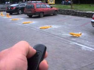 Автоматический парковочный блокиратор