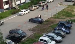 блокиратор парковочного места во дворах и офисах