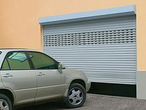 размеры рулонных гаражных ворот