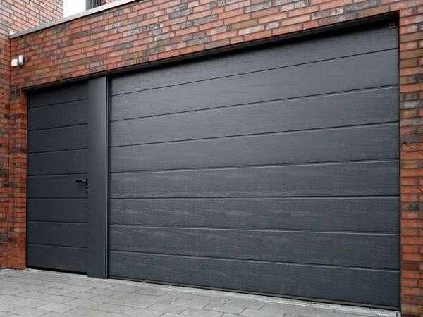 Стандартные размеры у секционных ворот для гаража