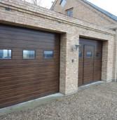 Какой стандартный размер гаражных ворот