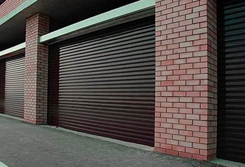 Рулонные ворота на гараж: виды, монтаж и цены