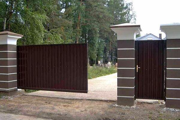 цена маленьких откатных ворот