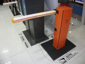 монтаж шлагбаума марки CAME GARD G3750