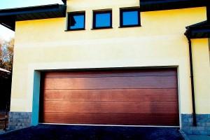 гаражные ворота от компании Дорхан