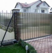 Цены на откатные ворота с электроприводом