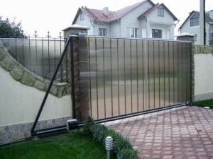 ворота откатные с электроприводом их цена