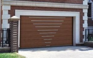 стоимость секционных ворот для гаража