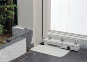 Подземная автоматика на ворота распашного типа