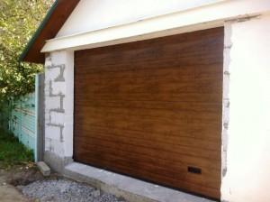 серия Classic гаражных секционных ворот Алютех