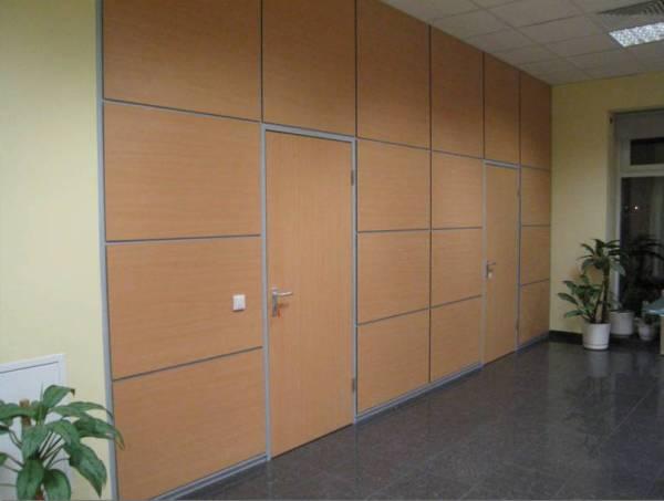 Теплопроводность - качество офисных перегородок