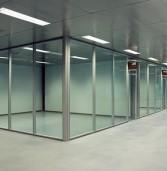 Офисные перегородки из алюминиевого профиля – обзор цен