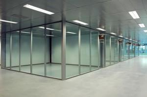 офисные перегородки из алюминиевого профиля и их цена