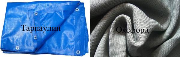 из каких тканей изготавливаются тенты чехлы на машину
