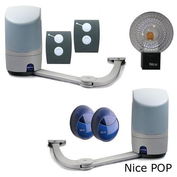 автоматика для распашных ворот nice Pop Kce