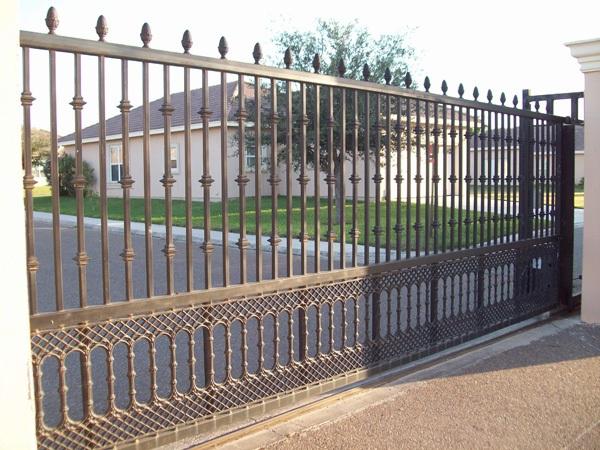 сколько стоят кованые откатные ворота
