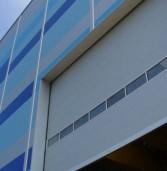 Обзор секционных промышленных ворот с вертикальным подъемом