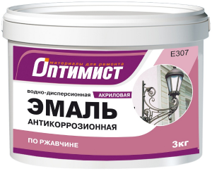 Акриловая эмаль для металлических поверхностей