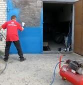 Покраска гаражных ворот: основные правила и советы профессионалов