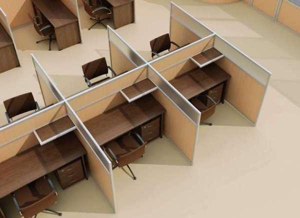 мобильные перегородки для офиса от компании ТиС
