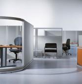 Обзор готовых мобильных офисных перегородок